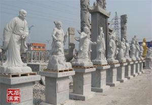 十八罗汉雕像